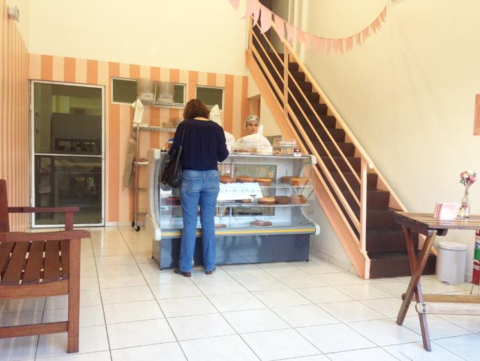Unidade da casa de Bolos na Vila Madalena