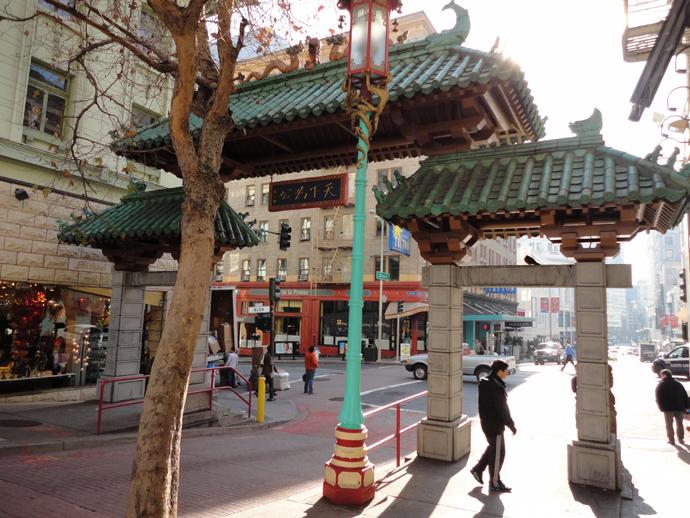 O bairro dos imigrantes chineses, China Town